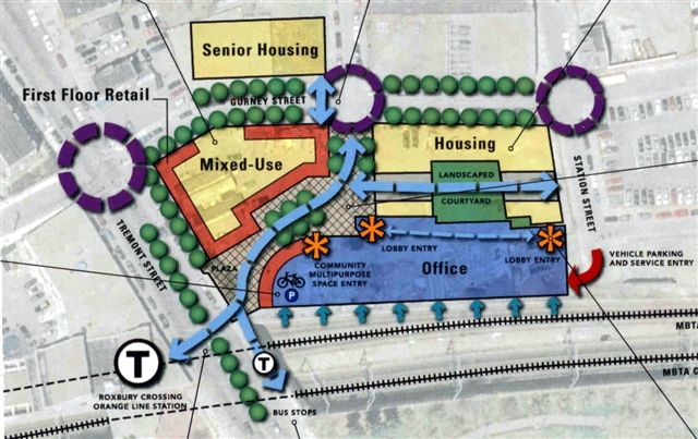 Parcel 25 Project Conceptual Site Plan | Mission Hill ...